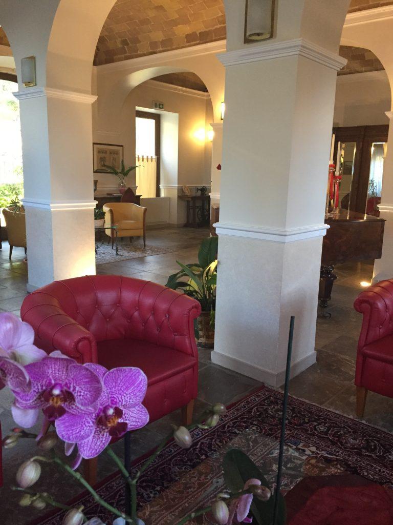 Salone principale dell'Hotel Claila